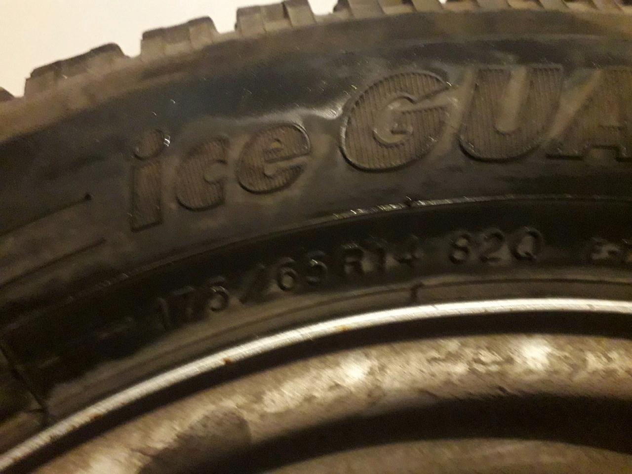 продам или обменяю 2 зимних колес YOKOHAMA | Объявления Орска и Новотроицка №3427