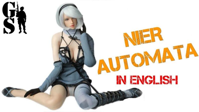 Android 2B NIER AUTOMATA - 16 Scale Action Figure (SET017) - SUPER DUCK