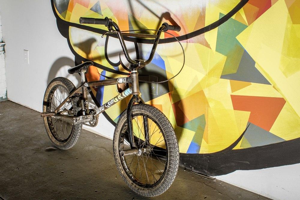 Mariano Santiago bikecheck kink frame