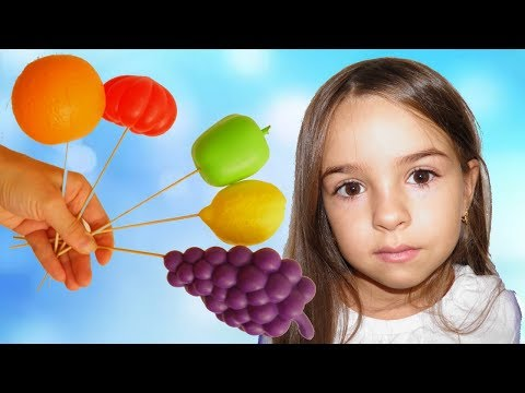 Baby Learn Colors and Fruits with Finger Family Song Nursery Rhymes for Children and Toddlers