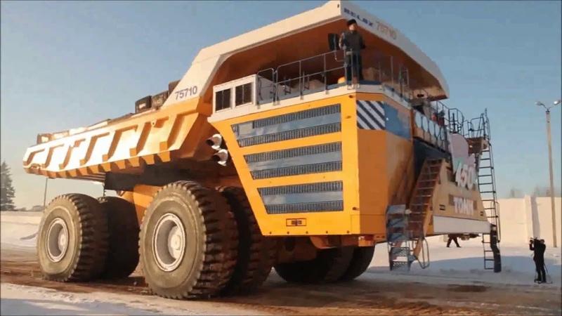 Beliaz el verdadero Camión más grande del mundo The largest and most powerful truck in the world