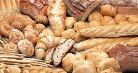У большинства хлебов есть клейковина.