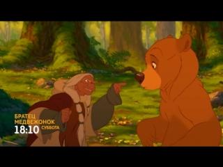 Братец медвежонок в субботу в 18:10