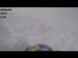 на снегоходе в середину лавины (omc (2))