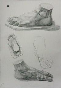 рук рисунок человека карандашом кисти