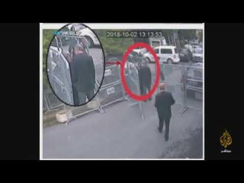 تسريب جديد فيديو جمال خاشقجي أثناء وداعه 1575