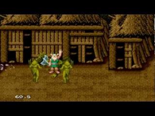Golden Axe - all magic attacks