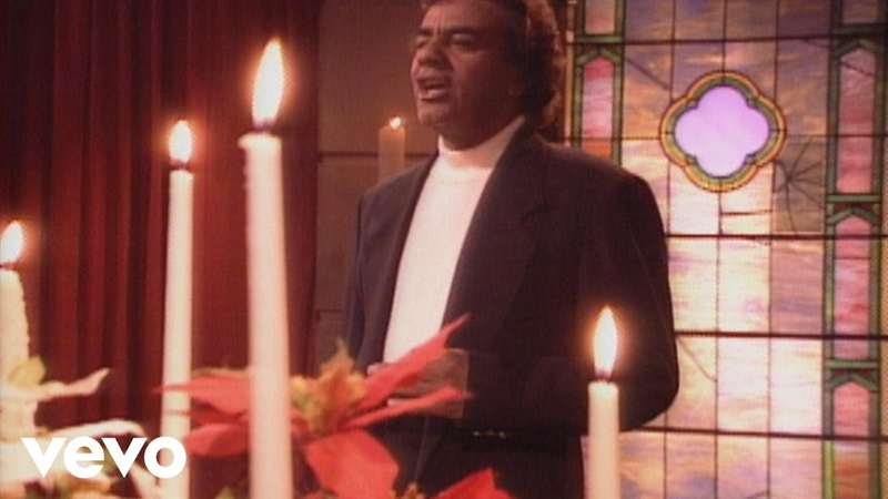 Johnny Mathis O Holy Night from Home for Christmas