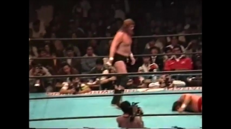 1993.04.12 - Steve Williams vs. Terry Gordy [HANDHELD JIP]