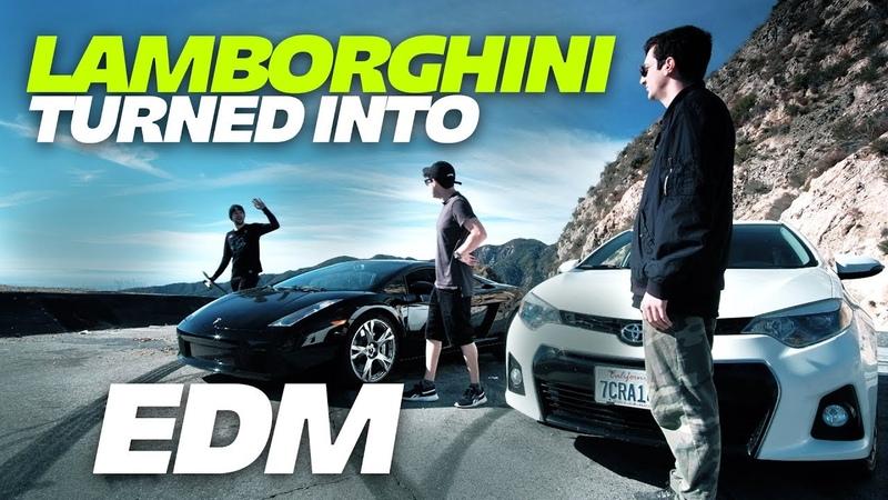 We Turned a Lamborghini Into an EDM Track