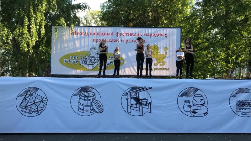 Выступление на благотворительном концерте Вологда Kangoo Jumps