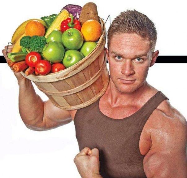 Рацион питания при наборе мышечной массы