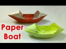 How To Make a Easy Origami Boat That Floats How to make a Paper Boat Origami Tutorial