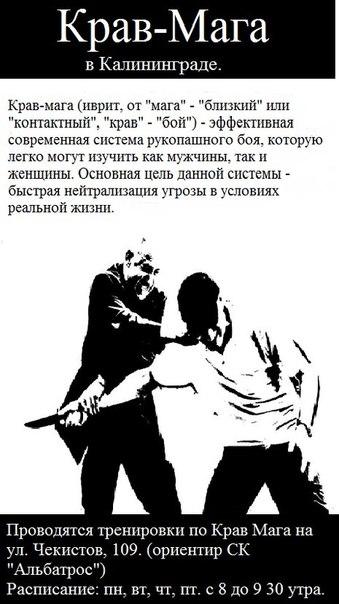 Крав-Мага в Калининграде | ВКонтакте