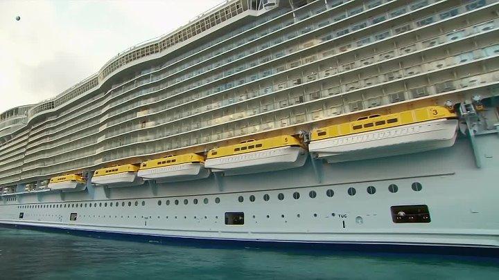 МОГУЧИЕ КОРАБЛИ. Discovery HD. Oasis Of The Seas (Морской оазис)