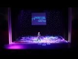 Владимир Певцов с песней на концерте студии танца Impulse (2018 год)