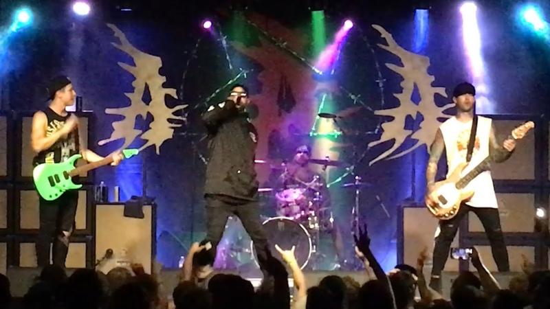 Attila Lets Get Abducted Live 7-19-18 Ragefest 2018 Manchester Music Hall Lexington KY