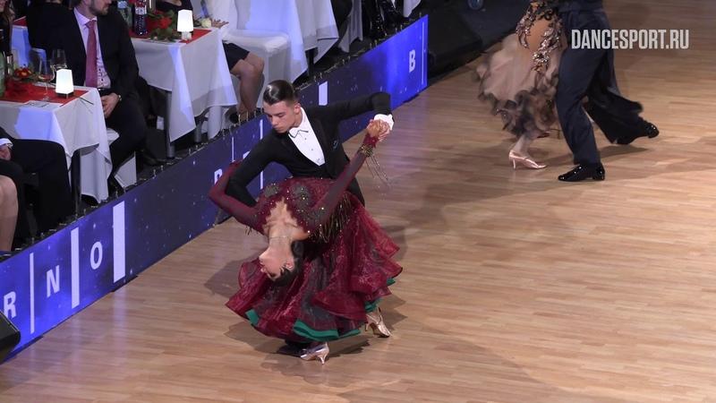 Vladislav Untu - Polina Baryshnikova MDA, Tango | Brno Open 2019 | Semifinal