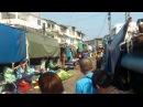 Maeklong Station - Market on Railway Track, Thailand