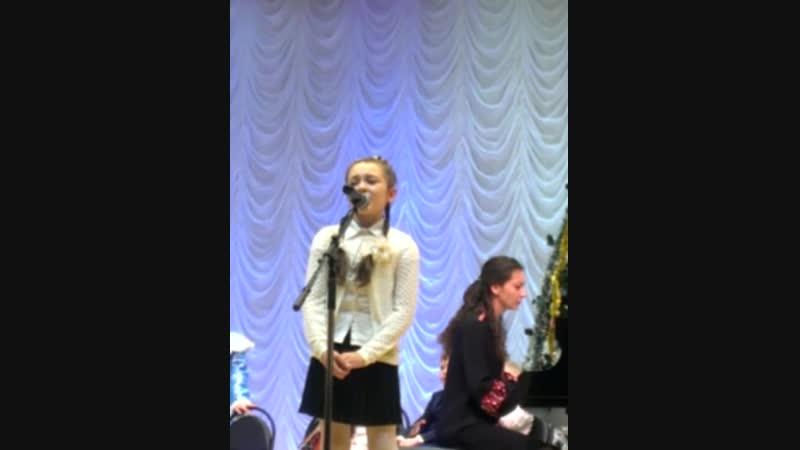 Новогоднее выступление в муз училище имени Кирякова