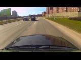 Mercedes Benz C180 vs BMW M6 Burnout