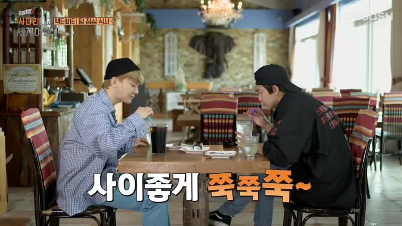 [oksusu] 190313 Travel the World on EXO Ladder Season 2 — Ep. 38