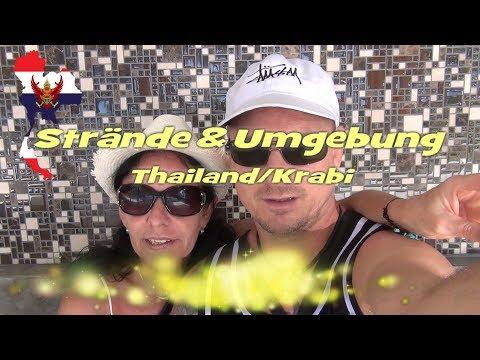 Strände Krabi Ausflugsziele Thailand 2018 Ao Nang Nopparat Thara