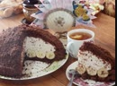 Торт НОРКА КРОТА - Нежный, вкусный и красивый на разрезе.