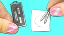 Miniature School Compass DIY Actually works YolandaMeow♡