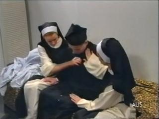 Perverse NS Nonnen Scene 7. Cindy Carrera, Jennifer Bond, Tanja Schwarz, guy