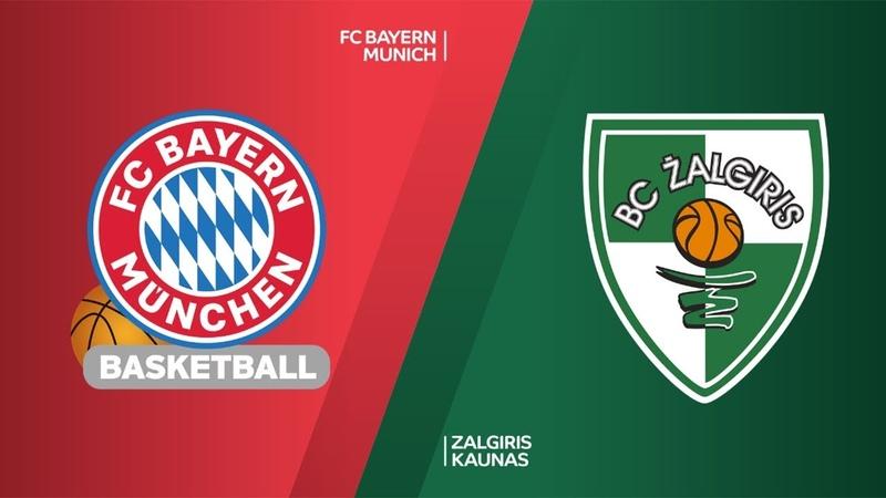 FC Bayern Munich - Zalgiris Kaunas Highlights | Turkish Airlines EuroLeague RS Round 12