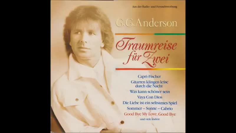 G. G. Anderson - Hello, Mary-Lou
