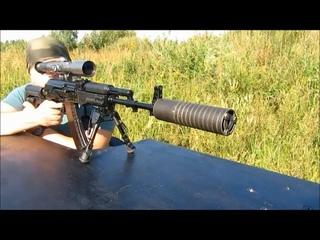 Сайга 5.45х39 с ДТК от Гексагон//Почти оружие спецназа!!))