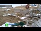 Трехметровое цунами на одесском пляже озадачило ученых: видео