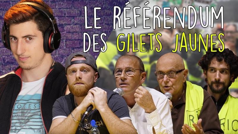 Le RÉFÉRENDUM des GILETS JAUNES avec Fly Rider Etienne Chouard Yvan Bachaud et Léo Girod