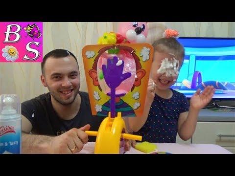 Пирог В лицо PIE FACE Challenge настольная игра для всей семьи