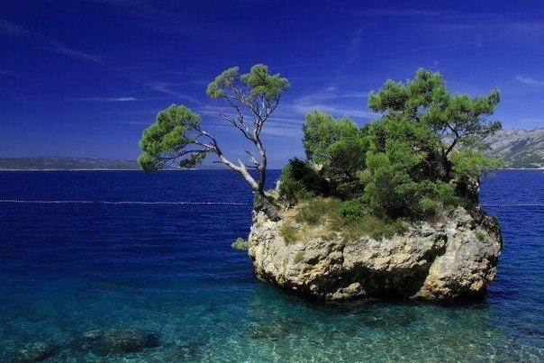Остров в Адриатическом море, Хорватия