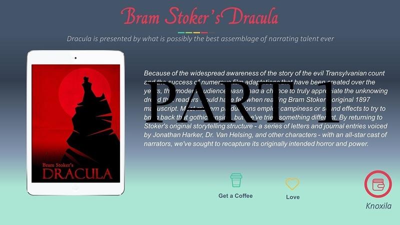 Bram Stoker's Dracula Audiobook Part 1