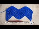 Узор зигзаг крючком Вяжем по схеме Урок 83 Zigzag crochet pattern