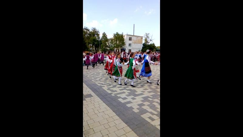 на площади Болграде