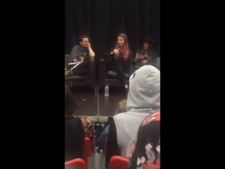 Women of DC Panel Katie McGrath, Lesley-Ann Brandt, Lauren German