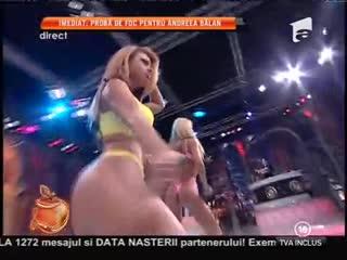 Loredana Chivu şi Ana Mocanu, dans în lenjerie intimă!