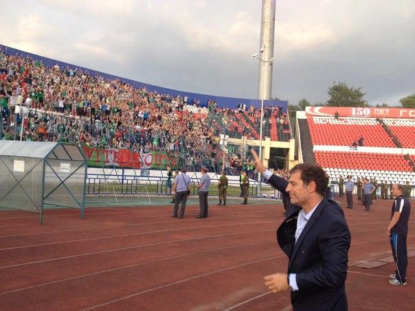 Славен Билич пообщался с болельщиками