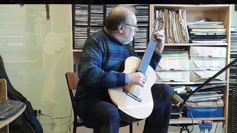 José Luis Merlin Canción del caminante enamorado, Enrique Bocaccio en Guitarra Clásica