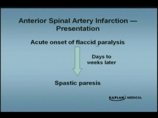 Ch 01 04 Anterior Spinal Artery Infarction