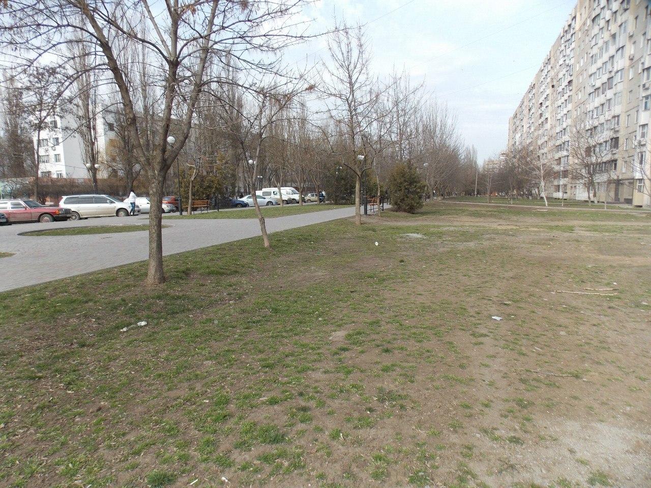 Вид на Крымский бульвар