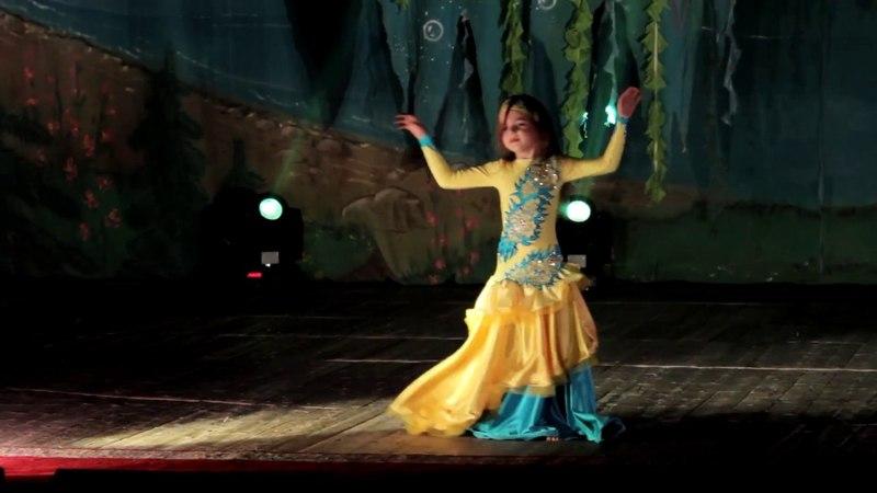 Школа восточного танца Бисер Федотова Варвара Беби дебют