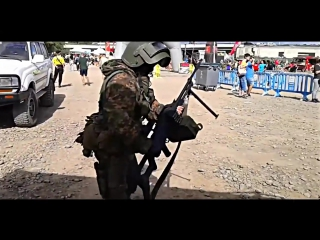 Russian special forces dance