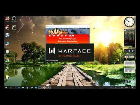 HiAlgoBoost Warface разгоняем комп для комфортной игры
