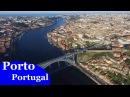 Porto, Portugal (4K, Ultra HD DJI Phantom aerial view)